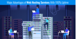 Major Advantages of Web Hosting Services With 100% Uptime