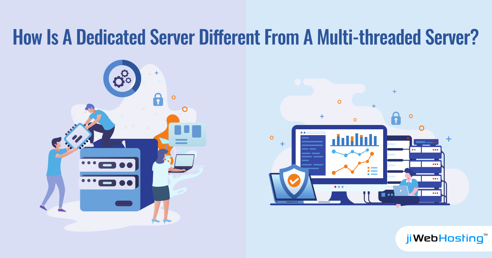 How Is A Dedicated Server Different From A Multi-threaded Server?